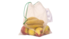 Netzbeutel, waschbar, wiederverwendbar, Obstbeutel, Gemüsebeutel, Meier Verpackungen