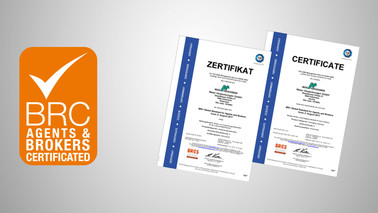 Meier Verpackungen, Zertifizierung nach BRC Global Standard for Agents & Brokers