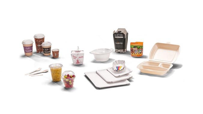 To-go-Verpackungen, Asia-Boxen, Coffee-to-go-Becher, Einweggeschirr, Besteck, Einwegteller, Take-away-Schalen, Meier Verpackungen