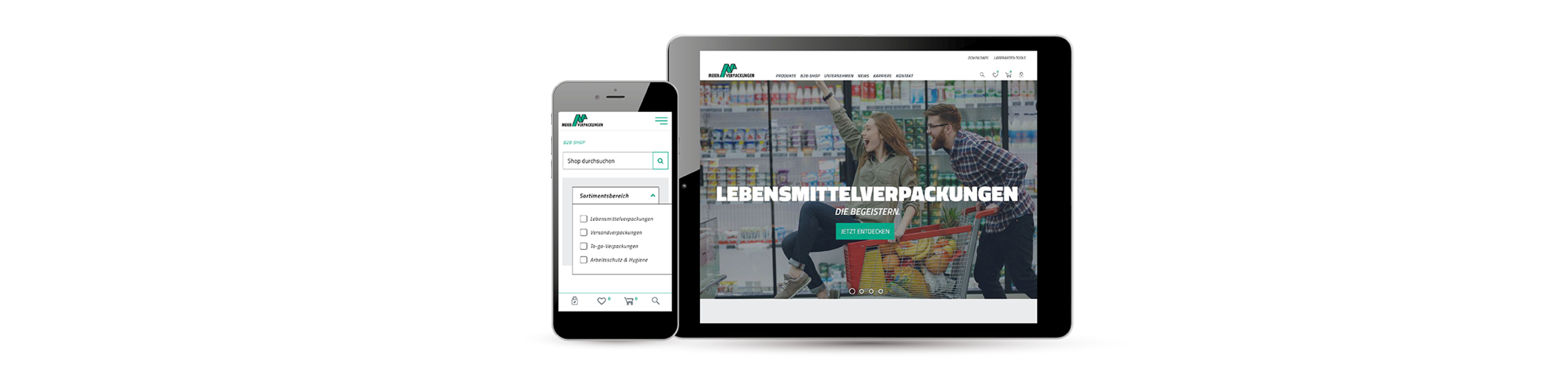 Meier Verpackungen, APP, IOS, Android